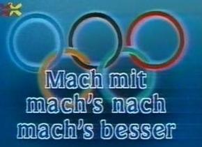 Mach Mit, Mach'S Nach, Mach'S Besser